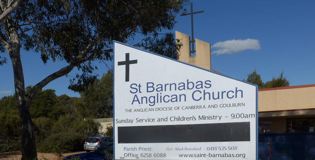 Image of the St Barnabas Sign