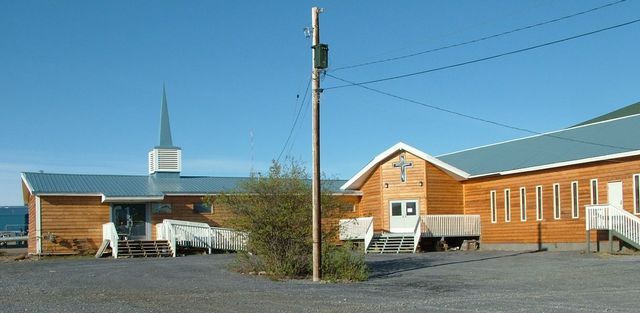 Image of the Church of the Ascension, Inuvik, Northwest Territories, Canada,