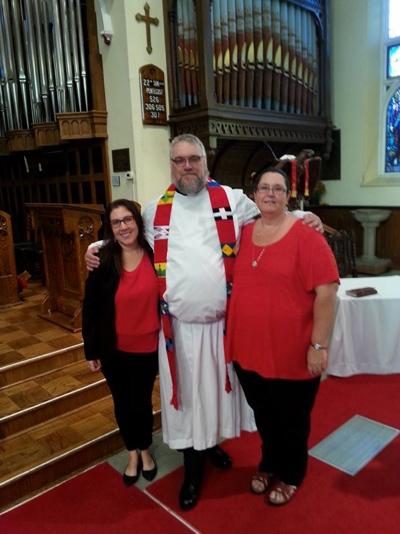 Image of the Rev Steve Martin's Ordination