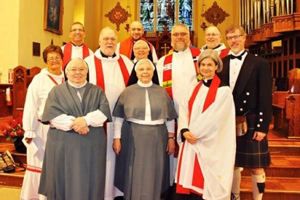 Rev Steve Martin's Ordination