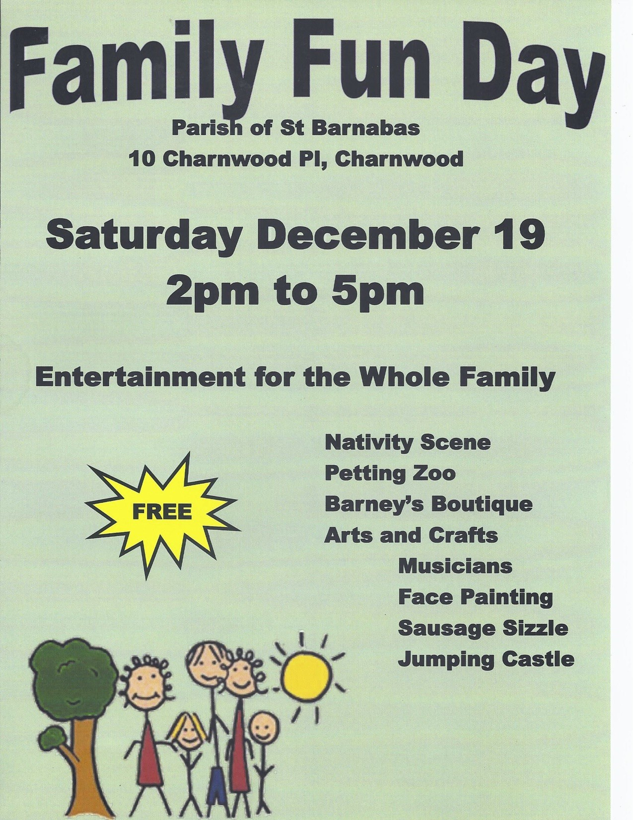 St Barnabas Family Fun Day