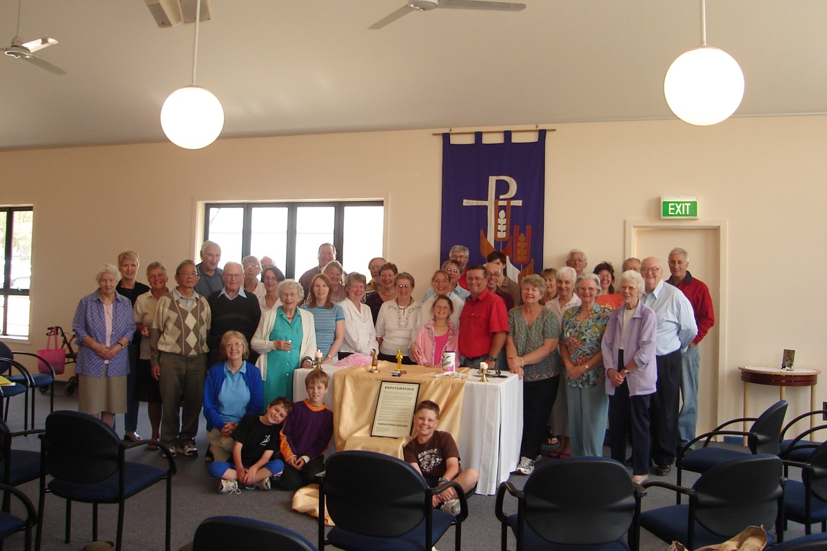 Image of St Barnabas Thanksgiving Service End of Anglicare Collection Sorting